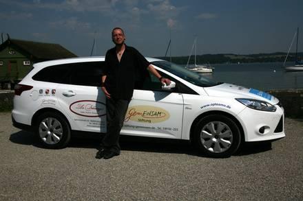 Sozialmobil 2015 mit Fahrer Gunnar Hannich