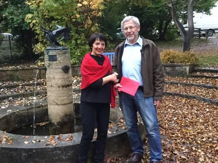 Doris Oberpottkamp und Peter Raithel Foto Rainer Bohl